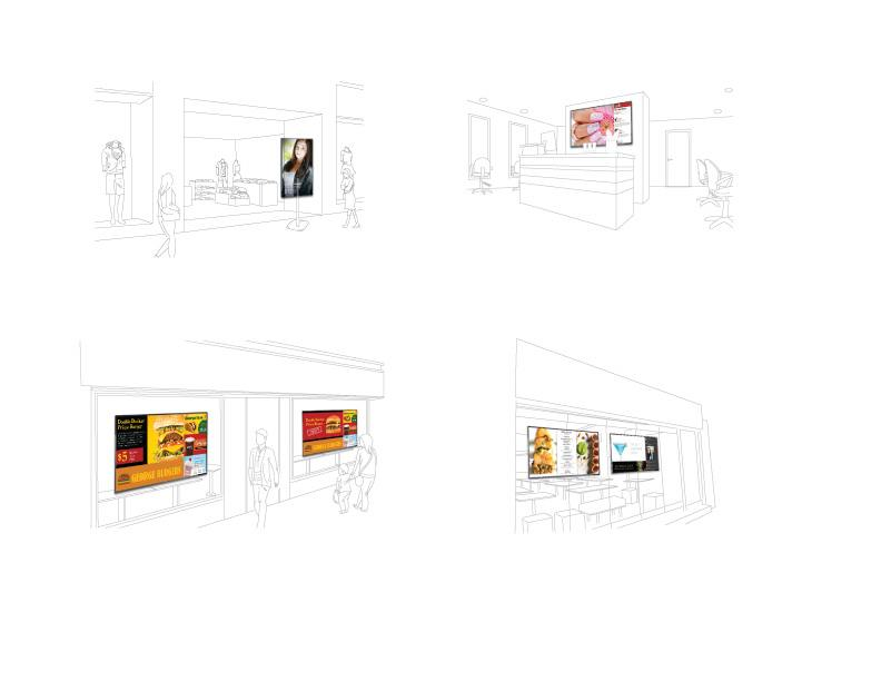4 scenes of how digital signage can be used