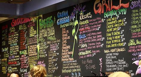 Menu with too many options