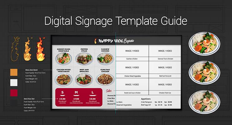 Digital Signage Template Cover Image