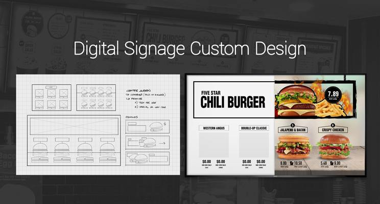 Digital Signage Custom Design