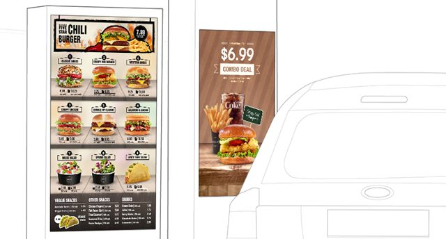 Digital Menu Boards with Visually Appealing Animations.