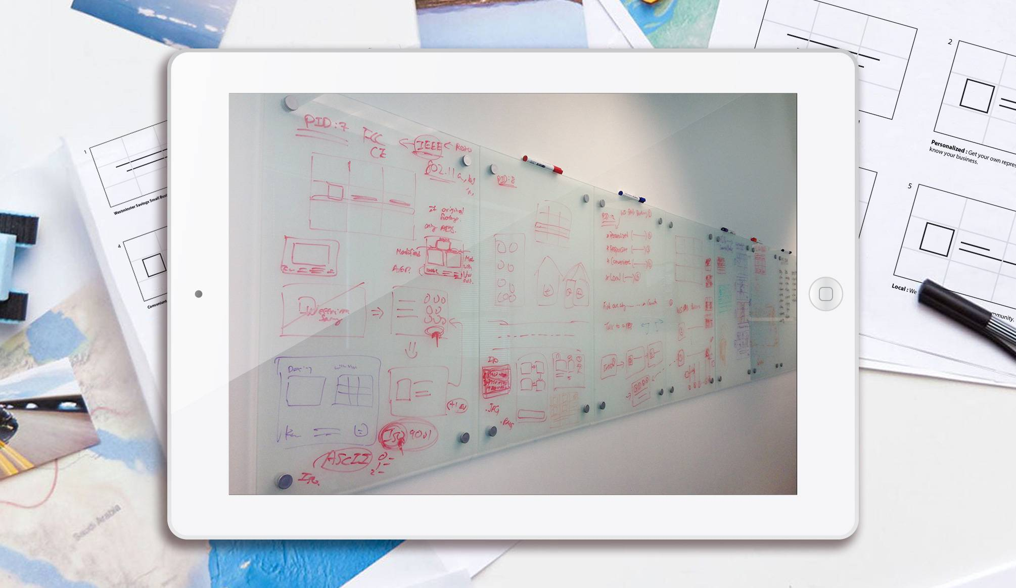 nexsigns graphic design services - ideating process