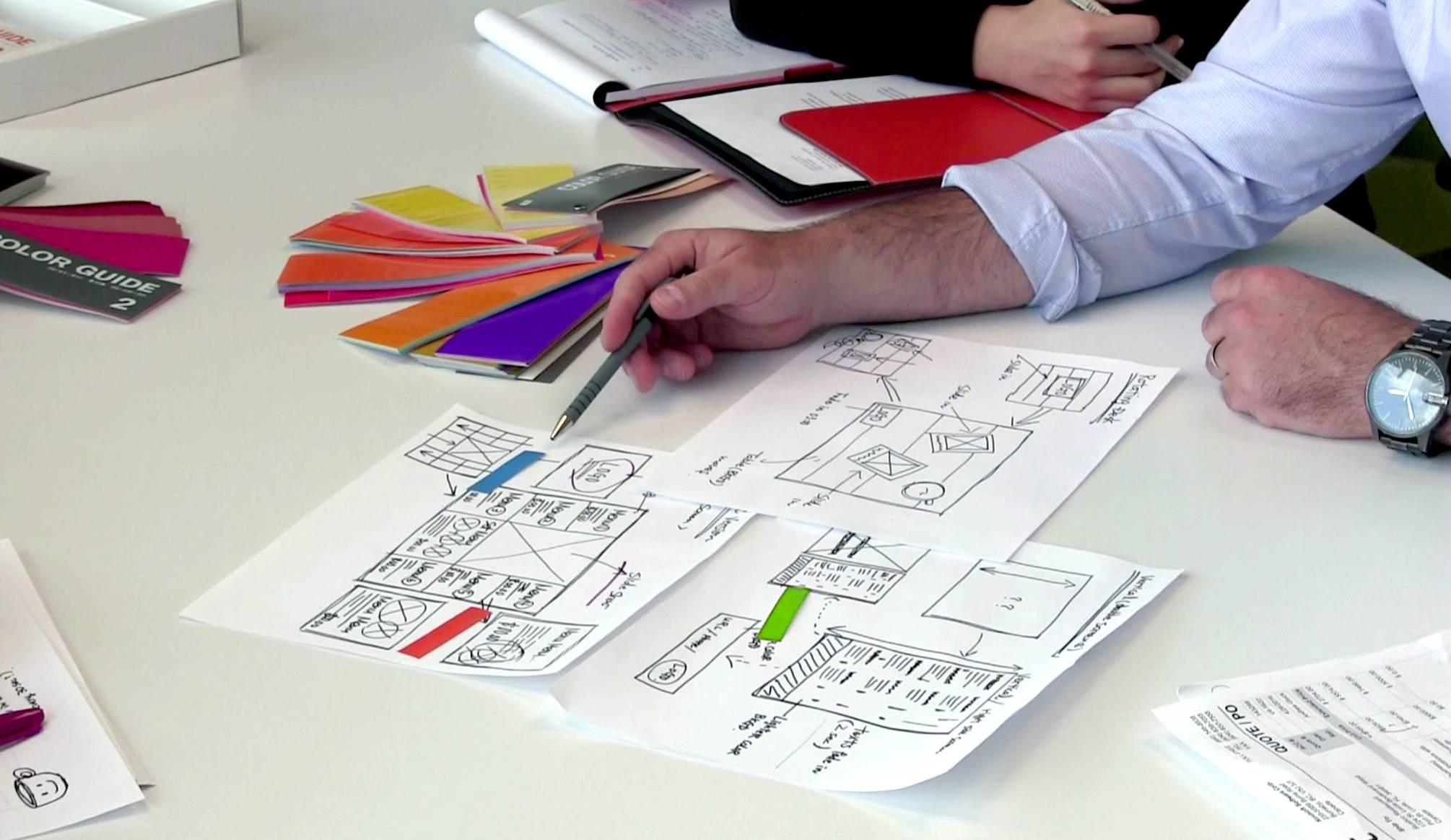 Graphic Design Services - NexSigns for the delly digital menu boards - conceptualization