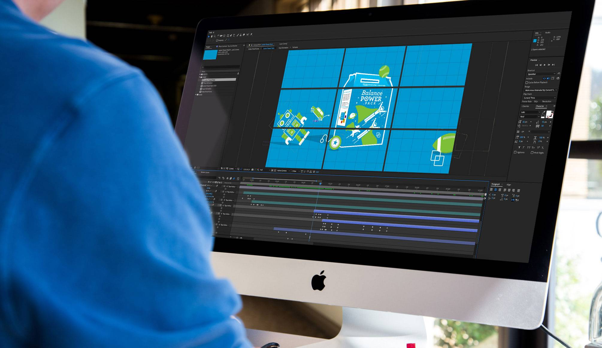 Graphic Design Services production - NexSigns for Westminster Savings - production stage