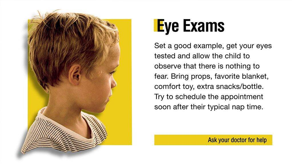 Eye Exam Tips and Suggestions Digital Signage