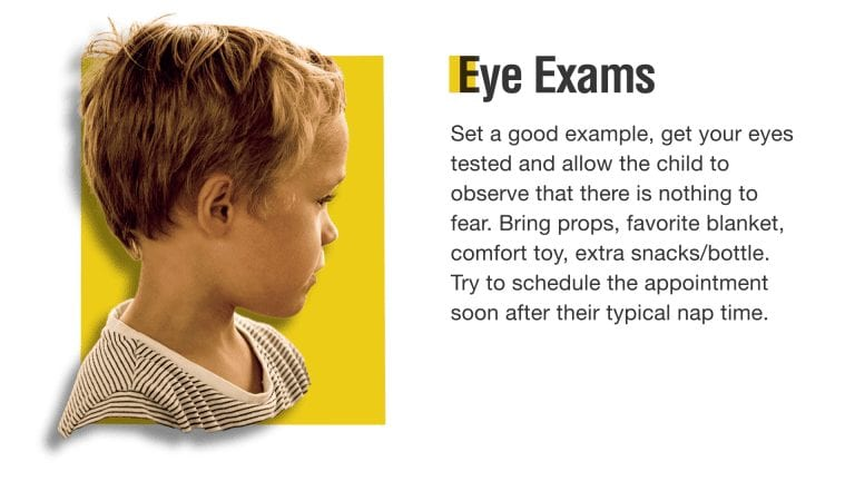 Demo eye exam digital signage
